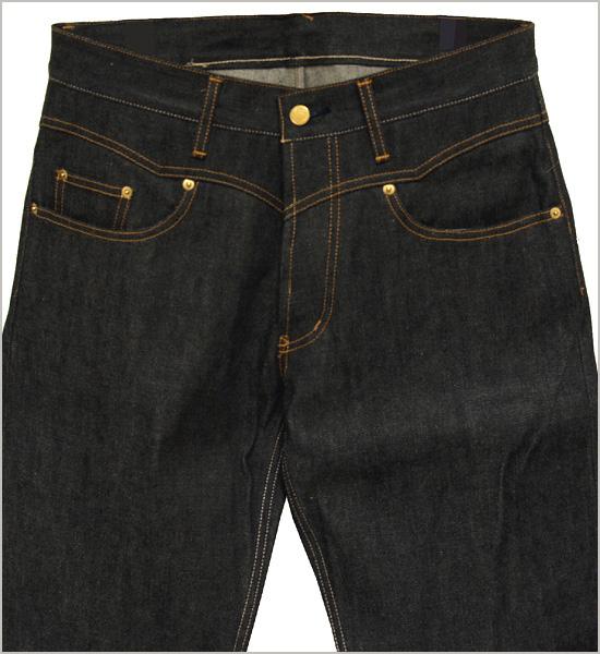 """GANGSTERVILLE/匪伙明星大楼by GLADHAND THUG-DENIM""""IRONCROSS""""刺绣设计生牛仔裤"""