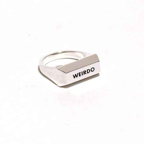 WEIRDO/ウィアード by GLADHAND- INGOT-RING SILVER 925 -シルバー925製 リング(指輪)本品はポイント+1倍です!