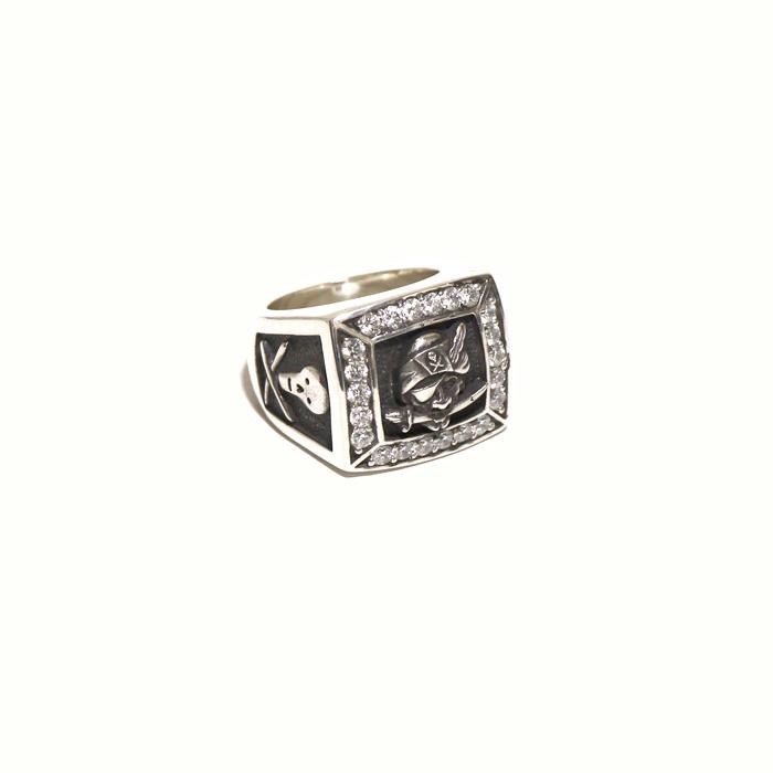 WEIRDO/ウィアード by GLADHAND- GEMSTONE-RING SILVER 925 -シルバー925製 リング(指輪)本品はポイント+1倍です!