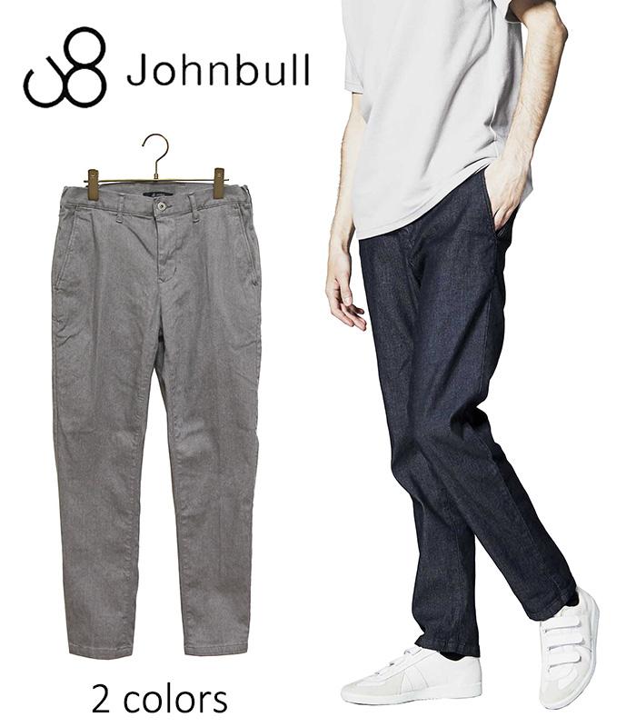 JOHNBULL[Men's]ジョンブルダブルクロスイージーパンツ☆日本国内 送料・代引手数料無料☆ 【正規取扱品】