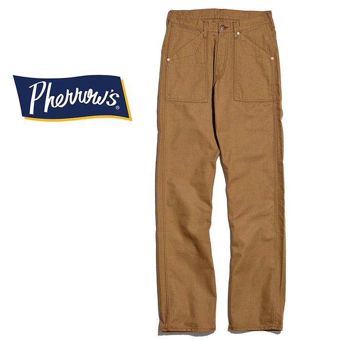 PHERROW'S(PHERROWS)/フェローズコットンダックワークパンツ