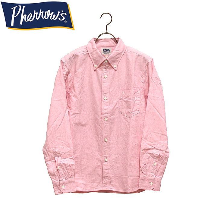 PHERROW'S(PHERROWS)フェローズボタンダウンシャツ※日本国内 送料・代引手数料無料※本品はポイント+4倍です!