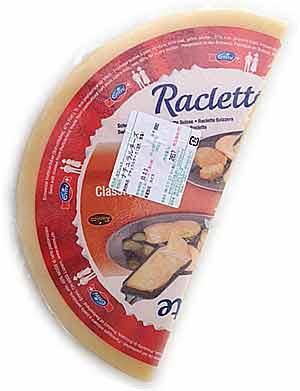 ★送料無料★【ハーフカット・ラクレット(約2.8kg)】6ヶ月以上熟成スイス産プロ用チーズお買い得な業務用サイズ
