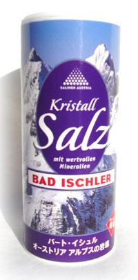岩塩 安値 バート イシュル 200g オーストリア パスタをゆでるときに入れると美味しさが引き立ちます との評価をいただきました サラサラで使いやすいので普段使いの調味料にも最適です アルプスザルツカンマーグート地方産 卓越