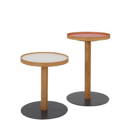 [ポイント最大42倍]TEORI テオリONESIDETABLEワンサイドテーブルHighタイプ直径400×高さ611mm【P10】【10P04Aug18】