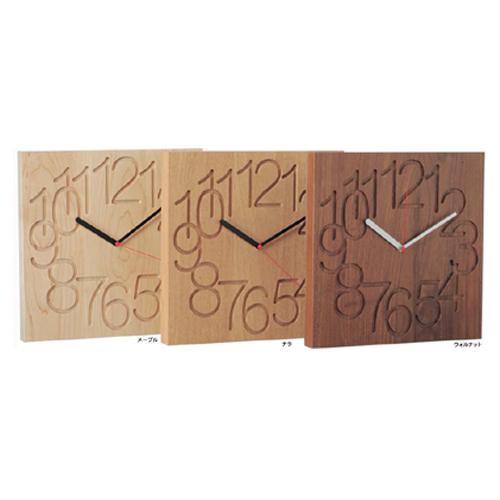コサインcosineMUKU時計<大>[木の時計 木製時計 無垢の掛け時計 北欧風のおしゃれな時計 名入れ可能]【P10】