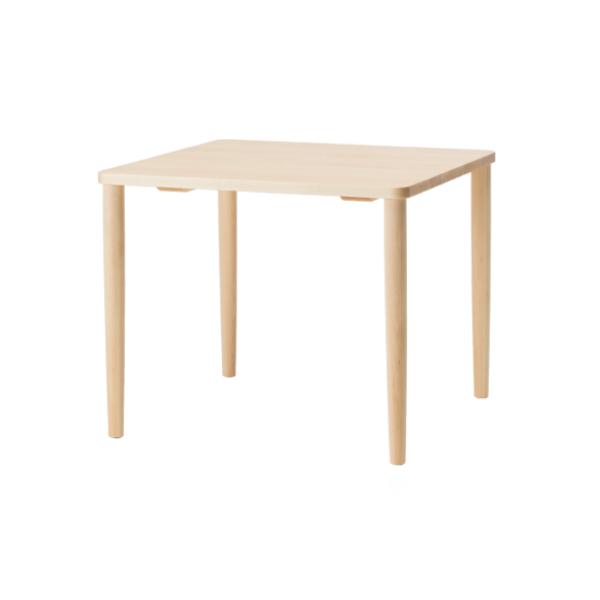 cosine(コサイン)フィットテーブル85メープル材W85×D85×H70cmTD-03NM[ ダイニングテーブル 新生活 二人暮らし ]
