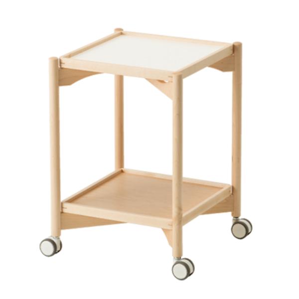 コサイン cosineトレーテーブル メープル材TA-14NMサイドテーブル ワゴンテーブル【P10】【10P04Sep18】