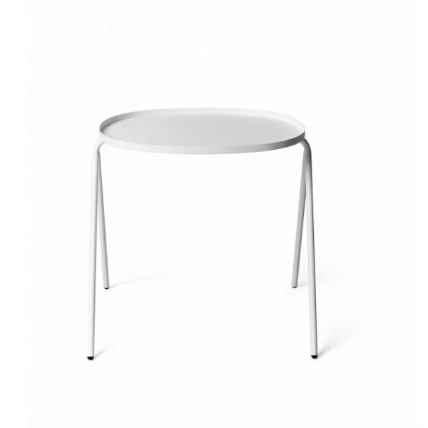 MENUAfteroomSideTableアフタルームサイドテーブルホワイト(8800639)Furniture/家具/サイドテーブル/ベッドルーム机/テーブル[沖縄・北海道配送不可]