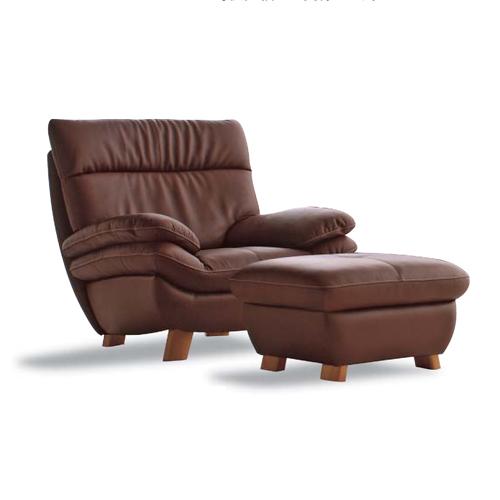 [お得なクーポン発行中]カリモクカリモク家具Karimoku送料無料本革張(外側:合成皮革)椅子2点セット(肘掛椅子×1+スツール×1)ZT8300DS-ZT8306DS【P10】
