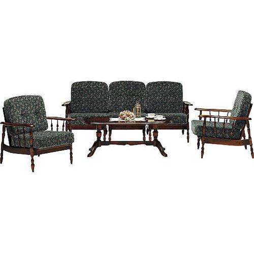 カリモクカリモク家具Karimok送料無料コロニアルシリーズ布張椅子10点WC6000-K(肘掛椅子フレーム)×2WC6005-K(肘無椅子フレーム)×1WC6008-K(右肘椅子フレーム)×1WC6009-K(左肘椅子フレーム)×1WC61-0G5(置クッション)×5