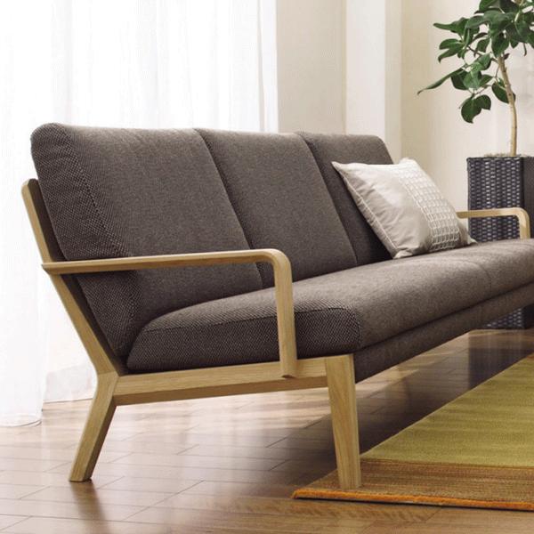 カリモク家具Karimoku送料無料平織張長椅子WU4503U32グループ【P10】
