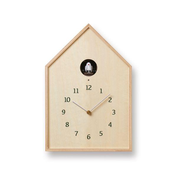 タカタレムノスBirdhouseClockナチュラル(NY16-12NT)[カッコー時計鳩時計]【P10】