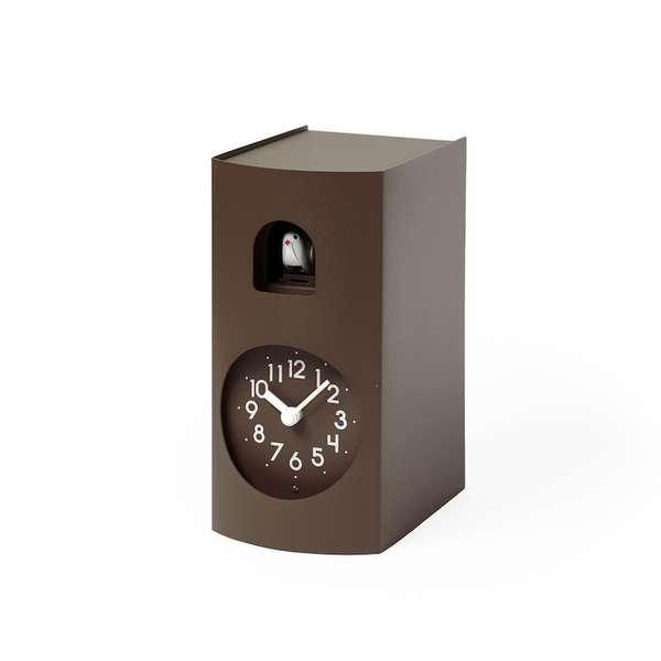 [ポイント最大42倍]タカタレムノスBockooGF17-04BWブックゥブラウン[鳩時計カッコー時計]