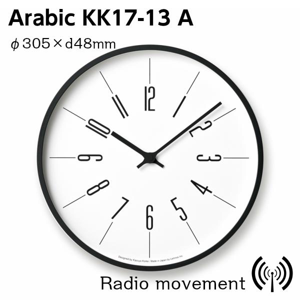 訳あり商品 LEMNOS(レムノス)壁掛け時計時計台の時計KK17-13AArabic寸法:φ305×d48mm【P10】, サクセスビジネス:2814c9cf --- canoncity.azurewebsites.net