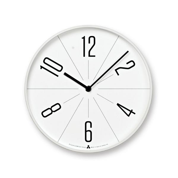 レムノスlemnos壁掛け時計GUGUググホワイト枠色AWA13-02WH【P10】