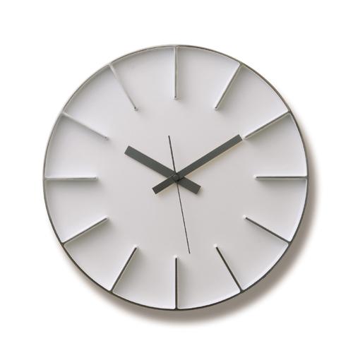 [お得なクーポン発行中]レムノスlemnos壁掛け時計AZUMIedgeclockLサイズ【P10】