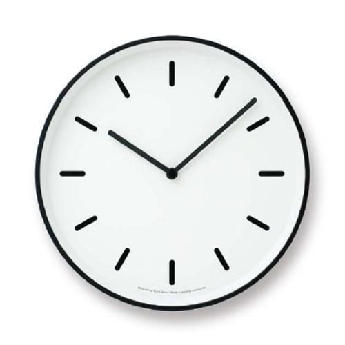 LEMNOS(レムノス)壁掛け時計奈良雄一MONOClock(モノクロック)ホワイトBlm-LC10-20BWH【P10】