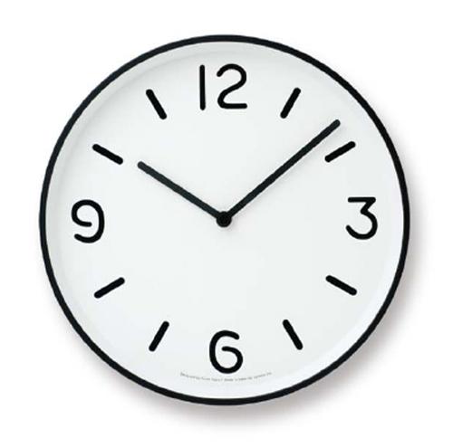 LEMNOS(レムノス)壁掛け時計奈良雄一MONOClock(モノクロック)ホワイトAlm-LC10-20AWH【P10】