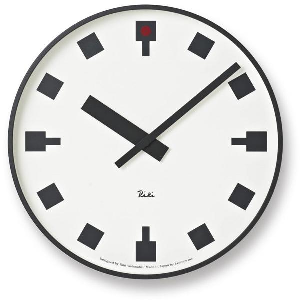 タカタレムノス 壁掛け時計 渡辺力日比谷の時計WR12-03【P10】