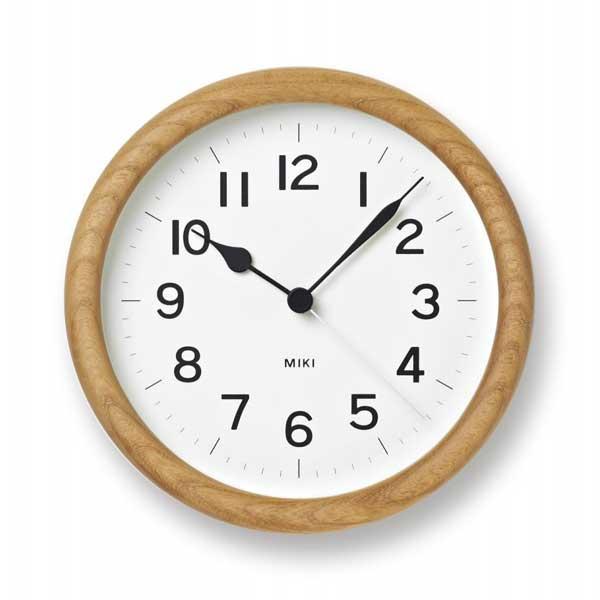 LEMNOS(レムノス)ケヤキの時計MIKI(ミキ)NY12-06【P10】