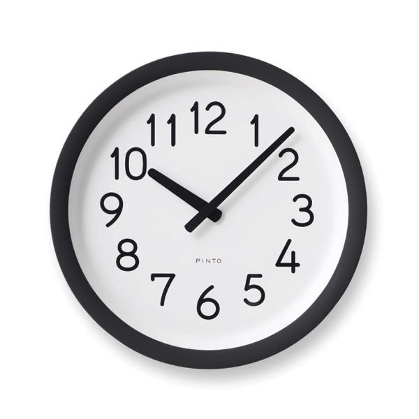 レムノスlemnos壁掛け時計DayToDayClockデイトゥデイクロックPIL12-10BW【P10】