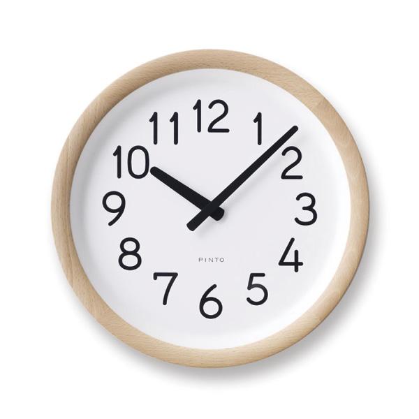 レムノスlemnos壁掛け時計DayToDayClockデイトゥデイクロックPIL12-10NT【P10】