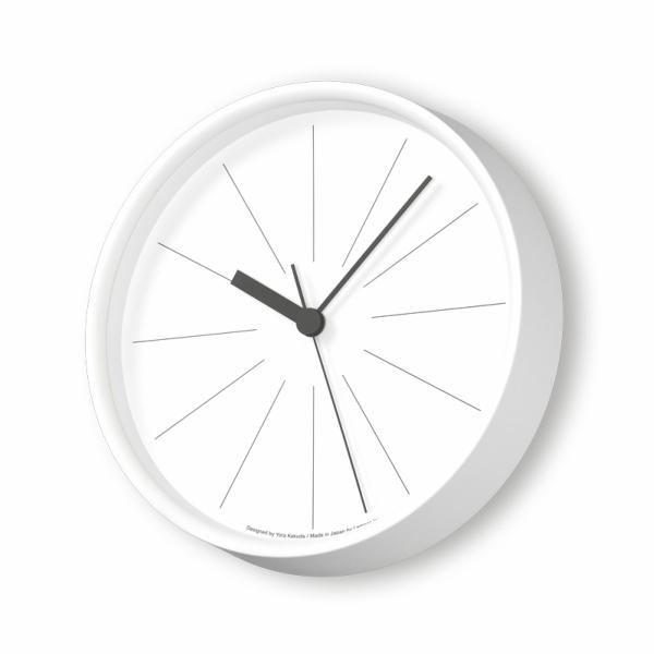 LEMNOS(レムノス)ラインの時計ホワイトYK18-09WH[ 電波時計 スイープセコンド 角田陽太 タカタレムノス ]