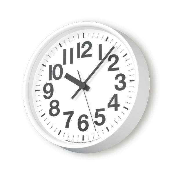 LEMNOS(レムノス)ナンバーの時計ホワイトYK18-10WH[ 電波時計 スイープセコンド 角田陽太 タカタレムノス ]
