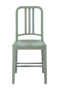 アルミの軽い椅子ネイビーチェア111NavyChairグレーエメコemecoアルミ椅子お洒落送料無料[沖縄・北海道配送不可]