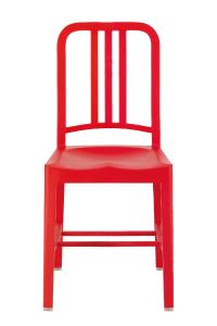アルミの軽い椅子ネイビーチェア111NavyChairレッドエメコemecoアルミ椅子お洒落送料無料[沖縄・北海道配送不可]