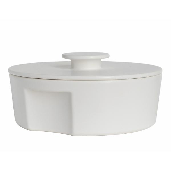 CeramicJapan(セラミックジャパン)土鍋do-nabeLサイズホワイト[土鍋電子レンジ可オーブン可]