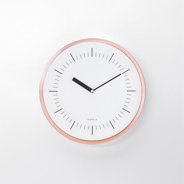 [お得なクーポン発行中]MOHEIMモヘイムHORNホルンCOPPERカッパーウォールクロック掛け時計