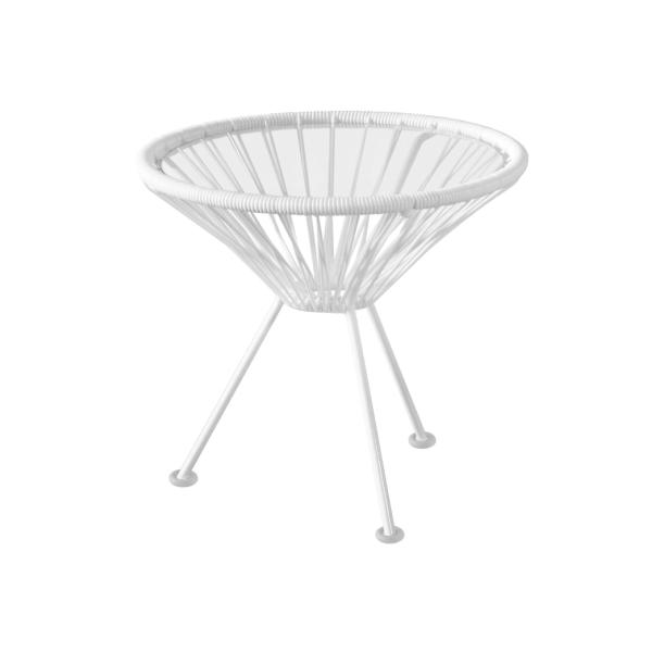metrocs(メトロクス)アカプルコサイドテーブル マキシムホワイトAcapulcoSideTable MaximWhite[ リゾート 西海岸 アウトドア テラス 屋外 室内 ]