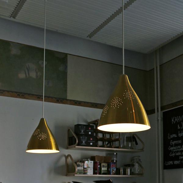 リサ S ペンダントランプ LED対応ブラス(真鍮)Sサイズ 直径265mm×高さ285mmリサ・ヨハンソン=パッペ[ イノルクス フィンランド 北欧デザイン 照明器具 ペンダント ]