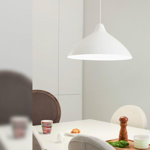 [ポイント最大42倍]リサ L ペンダントランプ LED対応ホワイトLサイズ 直径445mm×高さ255mmリサ・ヨハンソン=パッペ6月中旬入荷予定[ イノルクス フィンランド 北欧デザイン 照明器具 ペンダント ]