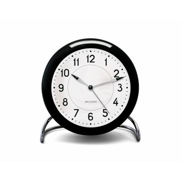 ROSENDAHL(ローゼンダール)ArneJacobsen(アルネ・ヤコブセン)Station(ステーションテーブルクロック)[お取り寄せ品][納期遅延対象商品][沖縄・北海道配送不可]