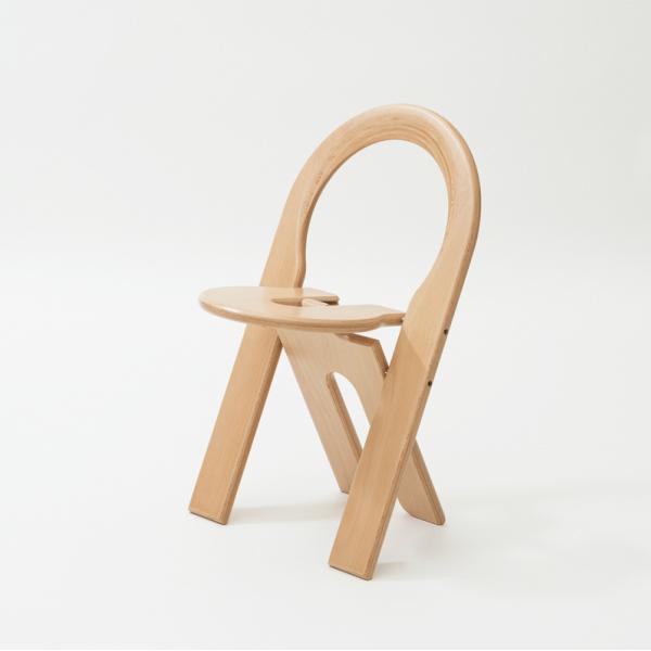 TSチェア ナチュラル幅460×奥行460×高さ730mmロジェ・タロン[ TS chair 北欧 フランス セントゥ 折りたたみ椅子 ビーチ材 ][お取り寄せ]