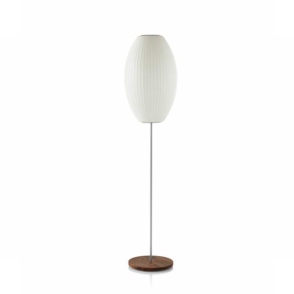 GEORGENELSON(ジョージネルソン)BUBBLE LAMPバブルランプCIGAR LOTUS FLOOR M WALNUT (シガー ロータス フロア M ウォルナット)[お取り寄せ]【P10】
