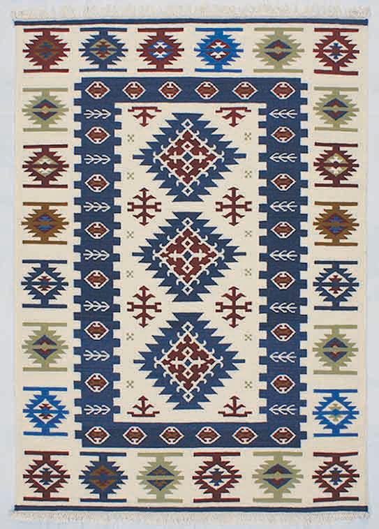 [ポイント最大42倍]北欧のラグSoftKilim(ソフトキリム)Esfahan(イスファハン)90×160【P10】【10P04Aug18】