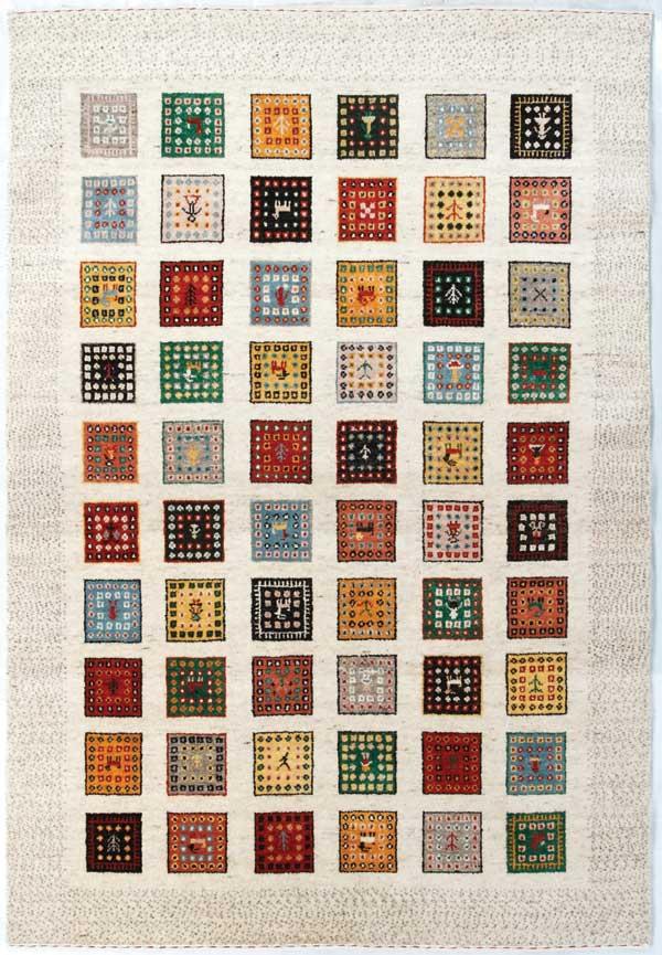 [ポイント最大42倍]北欧のラグアンカラトライバルANKARATribal(ハンドルーム手織り)トウランTouran(146)140×200cm【手織りラグギャベ絨毯ウール100%】【P10】【10P04Aug18】
