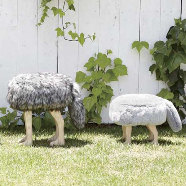 [ポイント最大42倍]匠工芸ANIMALSTOOLアニマルスツールフォックスグレーSサイズ【椅子スツール】