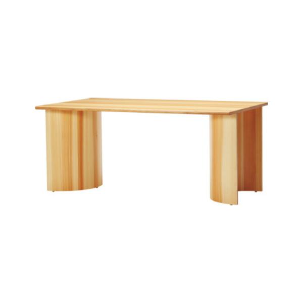 天童木工テーブルF-2741SG-NT小林幹也W1600×D900×H700 mm【P10】【10P04Aug18】