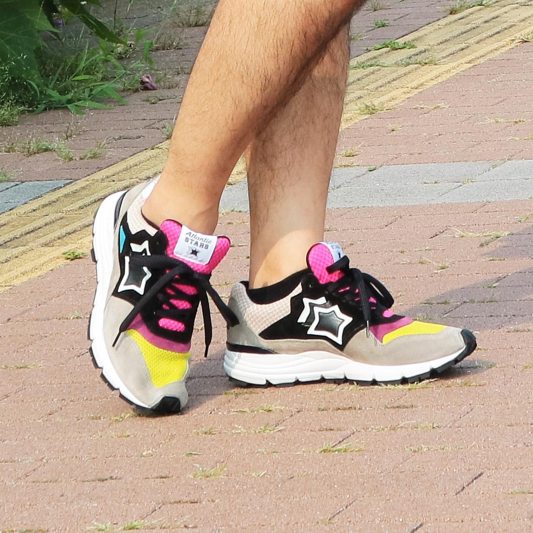 Atlantic STARS(アトランティックスターズ) スニーカー 靴 メンズ POLARIS ポラリス ANG-F07