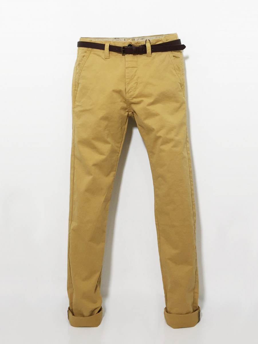 DSTREZZED (ディストレス) ストレッチチノ Chino Pants belt Stretch Twill