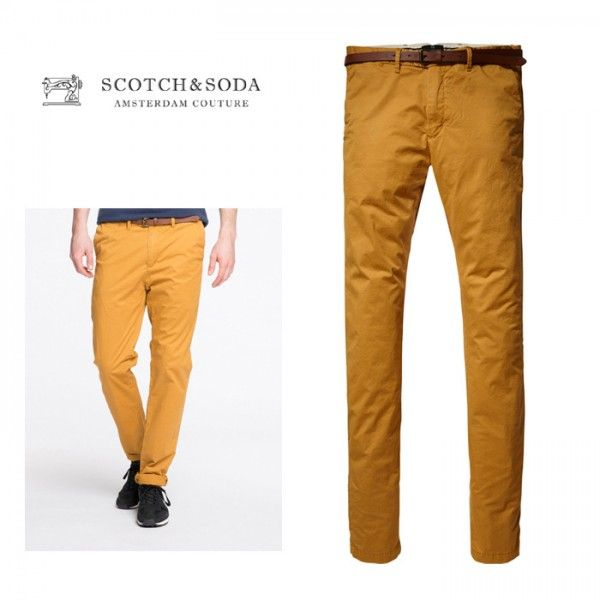 スコッチ&ソーダ Scotch & Soda Pima Cotton Chino Pants