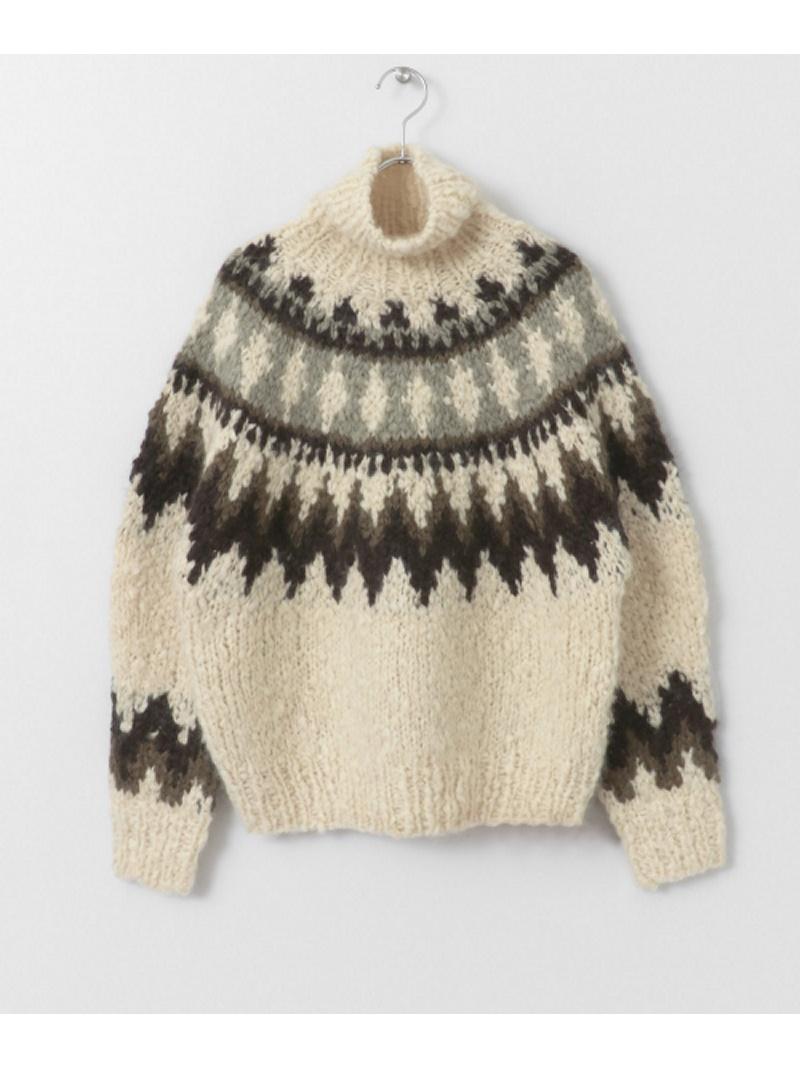 [Rakuten BRAND AVENUE]unfil cashmere handknit sweater DOORS アーバンリサーチドアーズ ニット【送料無料】