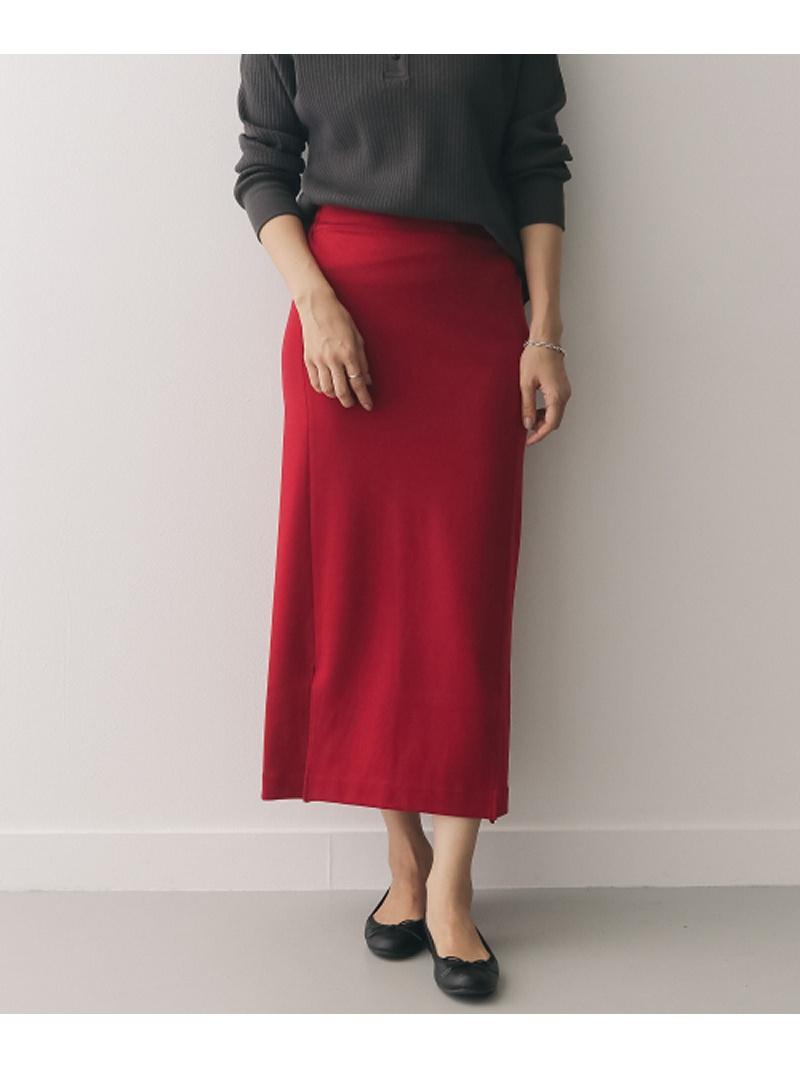 [Rakuten BRAND AVENUE]Audrey and John Wad Long Tight Skirt DOORS アーバンリサーチドアーズ スカート【送料無料】