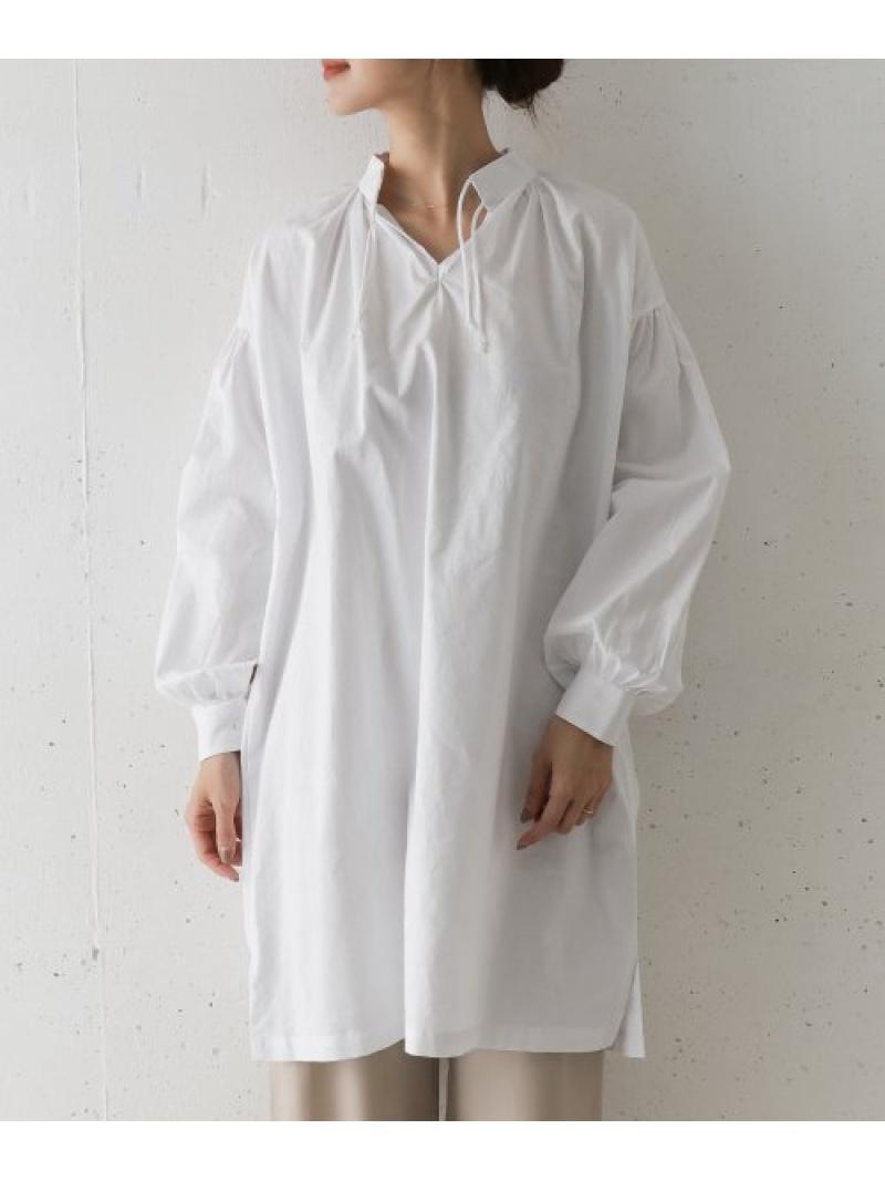 [Rakuten Fashion]【SALE/30%OFF】THEDUCHESSDESIGNSスモックチュニックシャツ DOORS アーバンリサーチドアーズ ワンピース チュニック ホワイト【RBA_E】【送料無料】