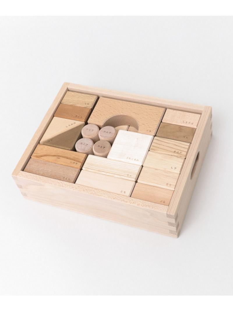 [Rakuten BRAND AVENUE]オークヴィレッジ 寄木の積木(木箱入り) DOORS アーバンリサーチドアーズ 生活雑貨【送料無料】